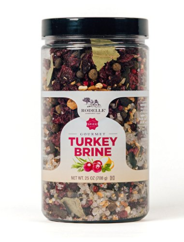 Rodelle Turkey Brine, 25 Ounce Turkey Mix