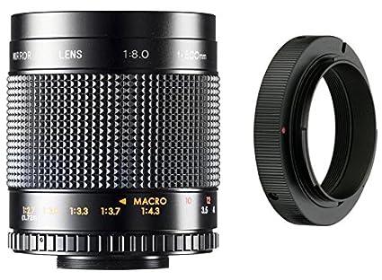 amazon com 500mm f 8 0 manual focus telephoto mirror lens for rh amazon com Canon 20D Firmware Canon 40D Sale