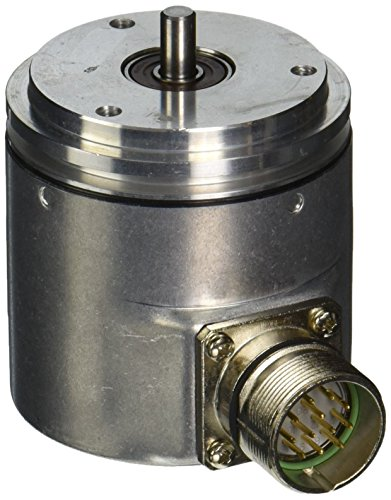 Hengstler 0522553 RI58-O/1024ES.41RD Incremental Encoder, 6 mm Solid Shaft, 1024 Pulses, Grey by HENGSTLER