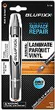 BLUFIXX instant light curing wood repair and laminate repair cherry/teak/mahagony incl. LED light