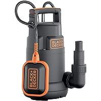 Black+Decker BXUP250PCE Bomba sumergible, 250 W, 230 V, Negro