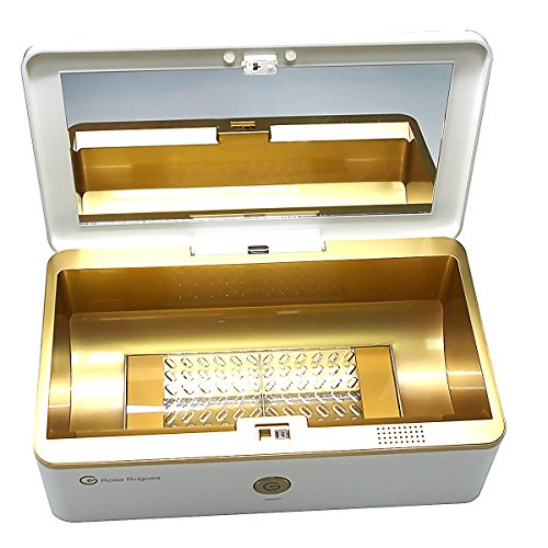 Rosa Rugosa UV Sterilizing Box,Ozone Sterilizer Box and Portable UV Sterilizer for Massager,Cleaner, Security Lock Sterilizer by Rosa Rugosa