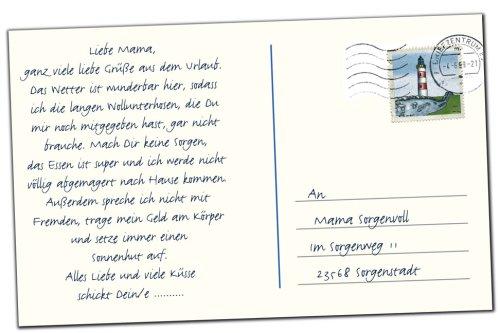 Urlaubsgrusse Der Postkartenstempel Amazon De Bucher