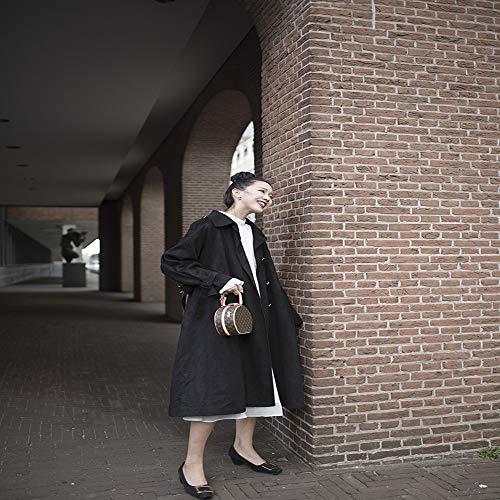 Estudiante Adultos Casual Dwyj M Cazadora Abrigo Suelta Viaje Rebeca Chaqueta Para S Fiesta Mujer Gabardina De Largo ww6f0