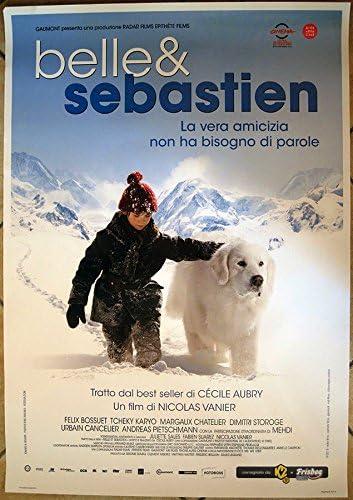 Belle Et Sebastien Enfants Poster Affiche Poster Chien D