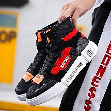 4a54be9495a49 Amazon.com: NANXIEHO Sport Shoes Leisure Light Men's Shoes ...