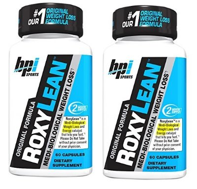 BPI Sports Roxylean Extreme Fat Burner and Weight Loss Supplement, 2 pack,120 Count