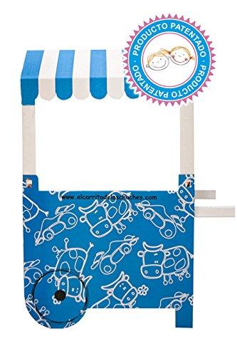 Carro de Chucherías de Cartón, Medidas 132 cm (alto) x 100 cm (ancho) x 59 cm (profundidad) - Candy Bar: Amazon.es: Hogar