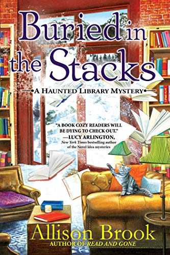 Buried in the Stacks: A Haunted Library Mystery by [Brook, Allison]