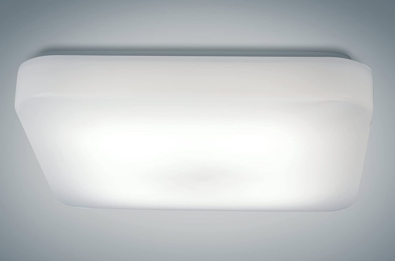 Flush Mount Ceiling Light ETL /& DLC Listed 100W Equivalent LB72114 LED Ceiling Light 15W 1050 Lumens Antique Brushed Nickel Soft White 3000K Energy Star 12-Inch Dimmable Light Blue USA