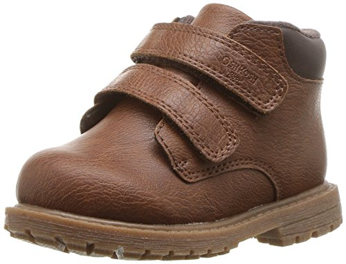 Image of OshKosh B'Gosh Boys' Axyl Ankle Boot, Brown, 7 M US Toddler