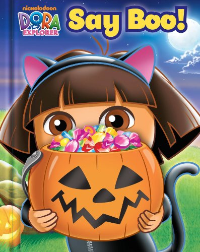 [Dora the Explorer: Say Boo! (Guess Who! Book)] (Good Story Book Character Costumes)