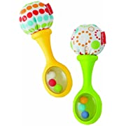Fisher-Price Rattle 'n Rock Maracas Musical Plaything, Amusement, Play, Toys, Game by Toys For Play