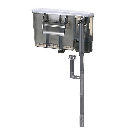Decdeal - 3 en 1 Filtro de Pecera y Acuario de Exterior para la Filtración de