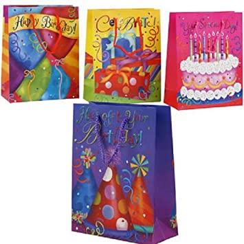 Image Unavailable Not Available For Color Birthday Gift Bags