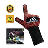 BBQ Oven Gloves Extreme Heat Resistant 932°F Satisfy bbq Outdoor picnic Home get together Oven Microwave Oven Curls and other needs