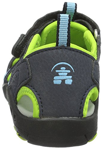 Kamik Enfant Crab Sandales Blau blu blue Fermées Mixte rqZTfn8rw