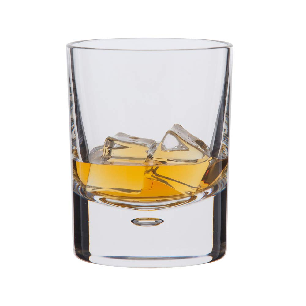 Dartington Exmoor Old Fashioned Tumbler, Clear, Pack of 2 TU45/4/P