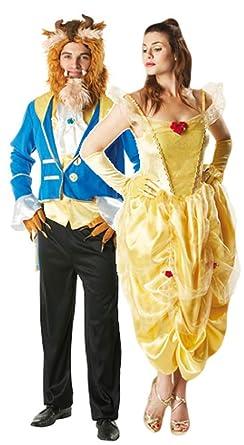 comprare a buon mercato gamma completa di articoli alta moda Mens & Ladies Couples Fairy Tale Belle Disney Beauty AND the ...