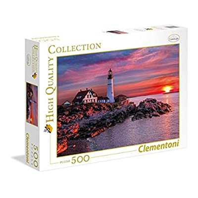 Clementoni 35049 High Quality Collection Puzzle Portland Head Light 500 Pezzi