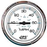 100 mph rv boat - Faria Chesapeake White SS 60 MPH GPS Speedometer