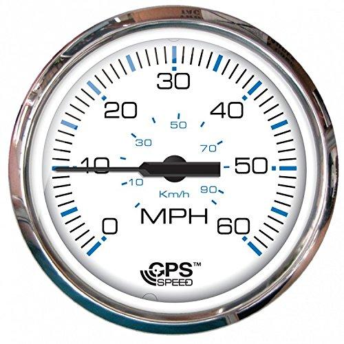 Faria Marine Gauges - Faria 33839 Chesapeake White Ss GPS
