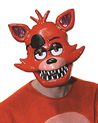 Rubies Costume Five Nights at Freddy's Foxy Adult Half (Five Nights At Freddy's Foxy Halloween Costume)