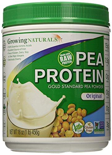 Growing Naturals Protein Powder, Original, 1 Pound