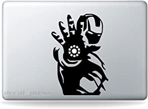Iron Man Hand Sticker Decal MacBook, Air, Pro All Modelss