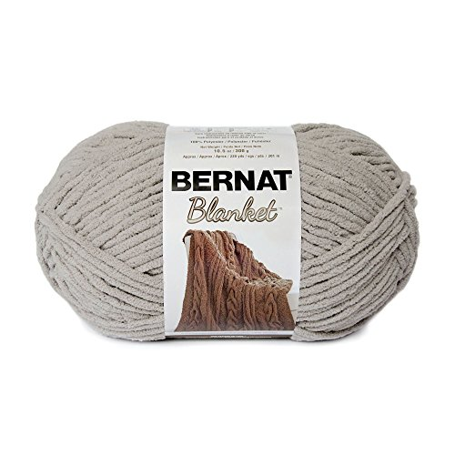 Bernat Blanket Big Ball Yarn, Pale Grey (16111010046)