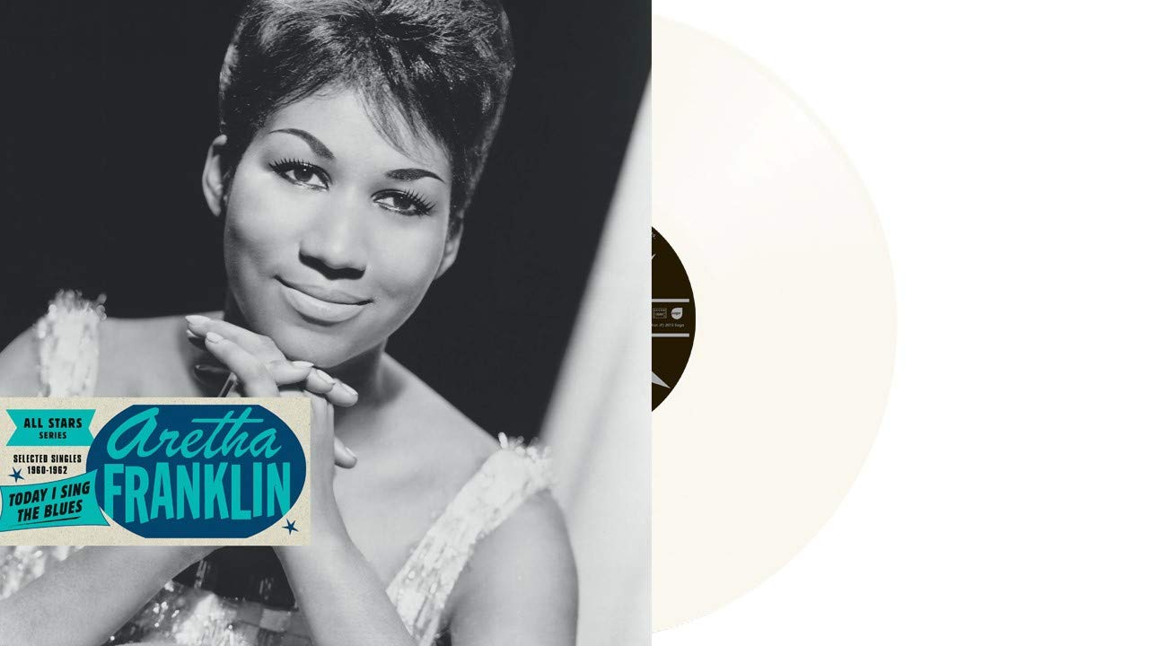 Vinilo : Aretha Franklin - Today I Sing The Blues: Selected Singles 1960-1962 (Colored Vinyl, France - Import)