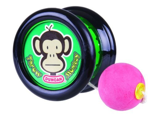 Throw Monkey Yo-Yo (colors and styles may vary) by Duncan