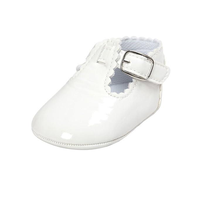 YanHoo Zapatos para niños Zapatos de Suela Blanda Zapatillas de Deporte para niños pequeños Zapatos Casuales Zapatos de bebé Zapatos para niñas pequeñas ...