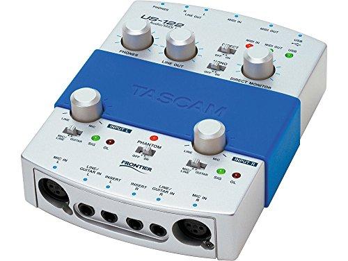 Tascam US-122 USB Audio/MIDI Interface by Tascam
