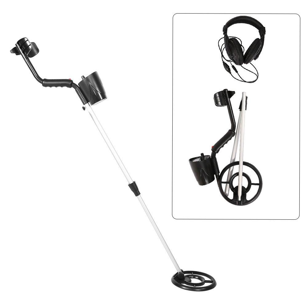 Yosoo Ajuste Automático Alta Sensibilidad Detector de Metales Buscador de Oro Cazador de Tesoros Escáner de Metal: Amazon.es: Jardín