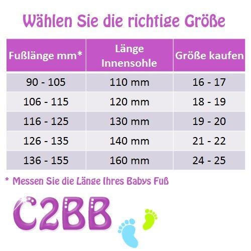 C2BB - Zapitillas de bebe de cuero suave niñas antideslizante | Libélula Rosa