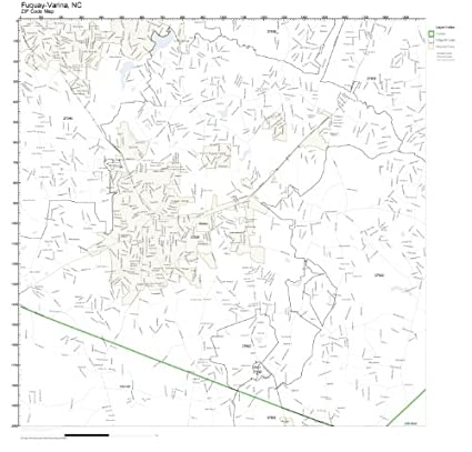 Fuquay Varina Zip Code Map.Amazon Com Zip Code Wall Map Of Fuquay Varina Nc Zip Code Map
