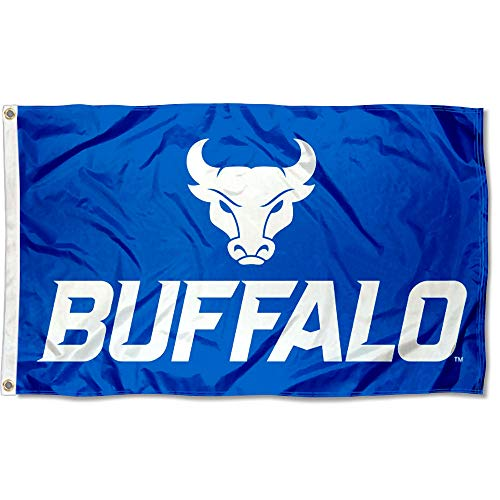 Banner Buffalo (College Flags and Banners Co. Buffalo Bulls New Logo Flag)