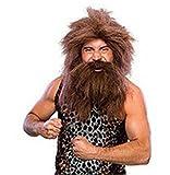 Men Pirates of Caribbean Blackbeard Beard Halloween Costume Cosplay Party Wig JF010621