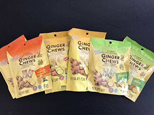 Prince of Peace Ginger Candy Veriaty Pack (Pack of 6) By KC Commerce - Prince Of Peace Ginger