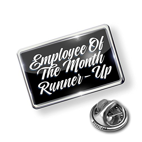 Pin Classic design Employee Of The Month Runner-Up - NEONBLOND