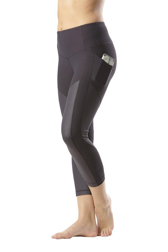 3897898170c2b 90 Degree By Reflex Women's High Waist Athletic Leggings with Smartphone  Pocket - Nine Iron - Small