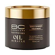 BC Bonacure OIL MIRACLE Gold Shimmer Treatment, 5.07-Ounce