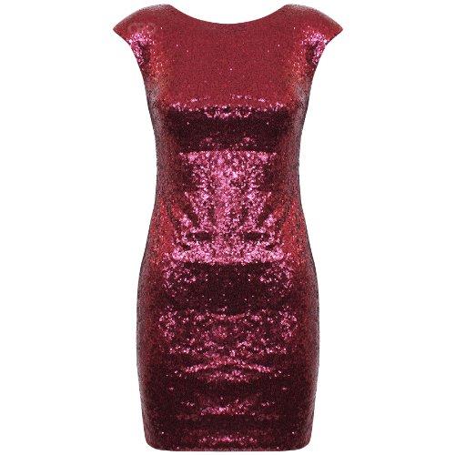 Oromiss - Vestido - para mujer Rojo