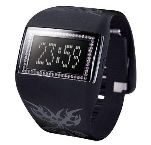 odm DD99BL-57C - Reloj digital automático para hombre con correa de silicona, color multicolor: Amazon.es: Relojes