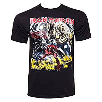 Iron Maiden - Camiseta - The Number Of The Beast: Amazon