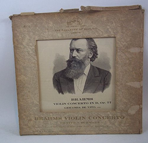 Brahms: Violin Concerto in D, Op 77 for sale  Delivered anywhere in USA