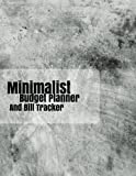 minimalist budget planner and Bill Tracker: With