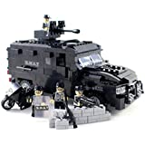 Police SWAT Truck with a Motorcycle and Guns - Building Block Toy