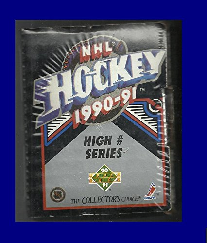 - 1990-91 Upper Deck Hockey High Number Series Fact. Sealed Set Sergei Federov RC